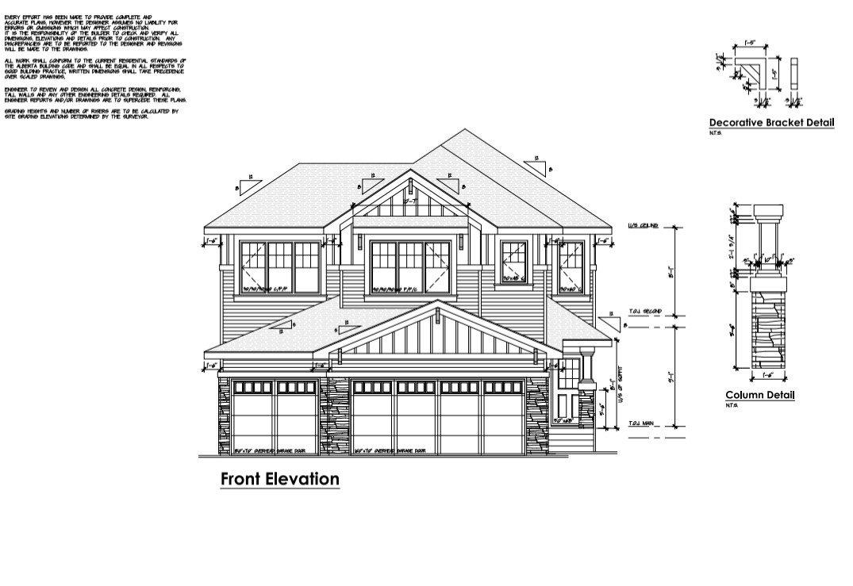 Main Photo: 6752 Elston Lane in Edmonton: Zone 57 House for sale : MLS®# E4194029