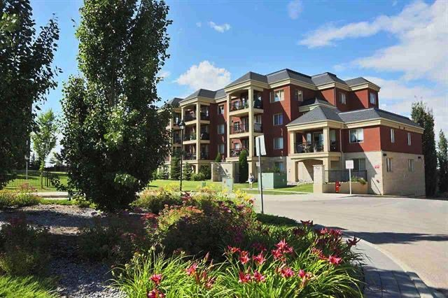 Main Photo: 107 500 PALISADES Way: Sherwood Park Condo for sale : MLS®# E4205310