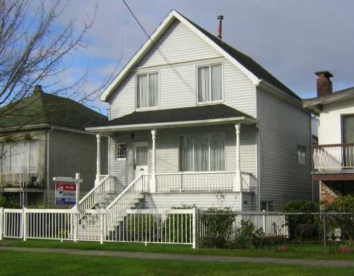 Main Photo: 4097 WELWYN Street in Vancouver: Victoria VE House for sale (Vancouver East)  : MLS®# V636336