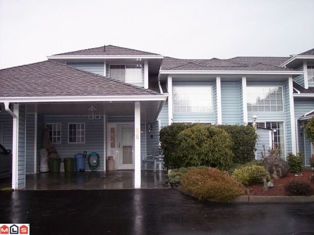 Main Photo: # 86 34959 OLD CLAYBURN RD in Abbotsford: House for sale : MLS®# F1101099