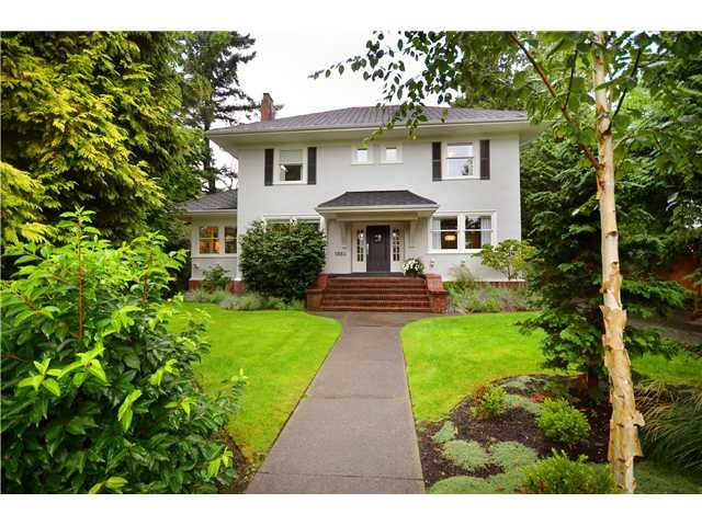 Main Photo: 1883 W 41st Avenue in Vancouver: Shaughnessy House for sale (Vancouver West)  : MLS®# V912428