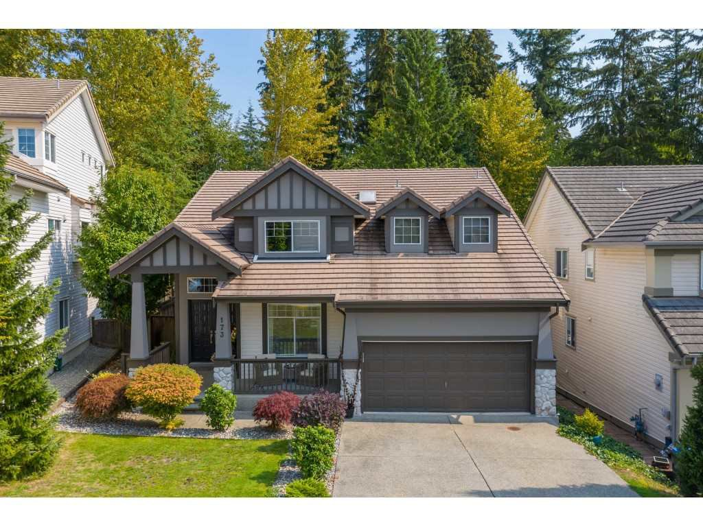 "Main Photo: 173 ASPENWOOD Drive in Port Moody: Heritage Woods PM House for sale in ""HERITAGE WOODS"" : MLS®# R2494923"