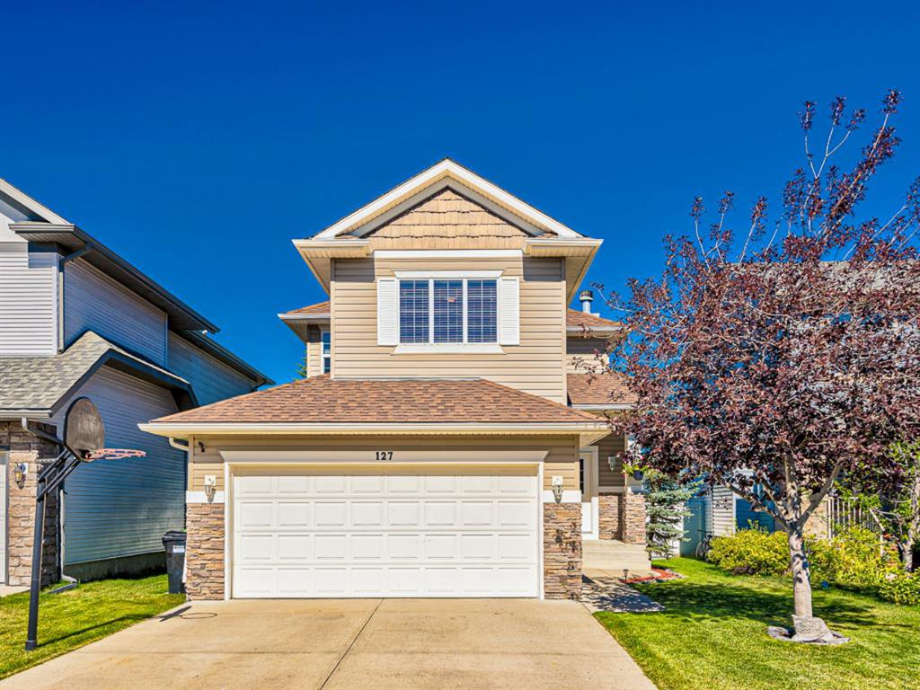 Main Photo: 127 WEST SPRINGS Close SW in Calgary: West Springs Detached for sale : MLS®# A1034382