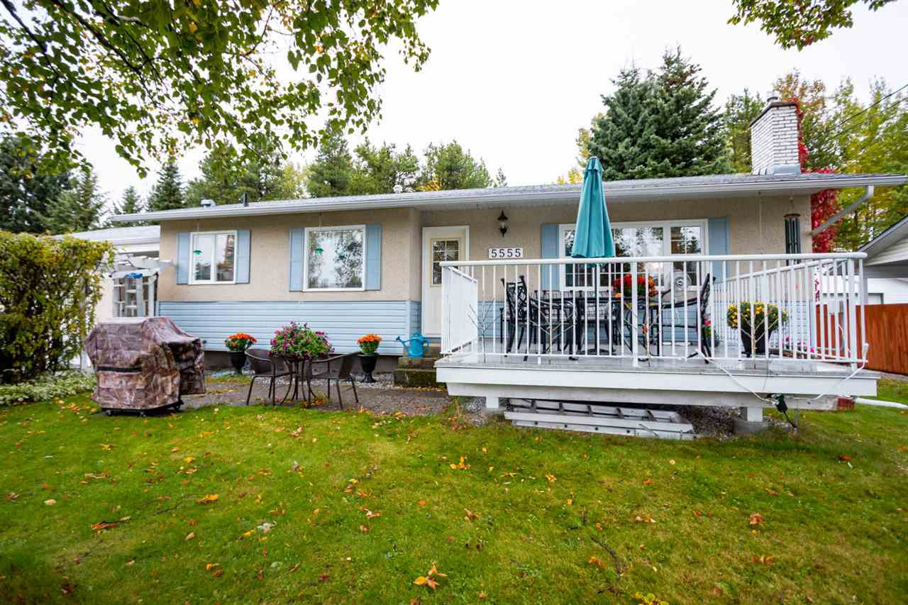 Main Photo: 5555 PARK Drive in Prince George: Parkridge House for sale (PG City South (Zone 74))  : MLS®# R2502546