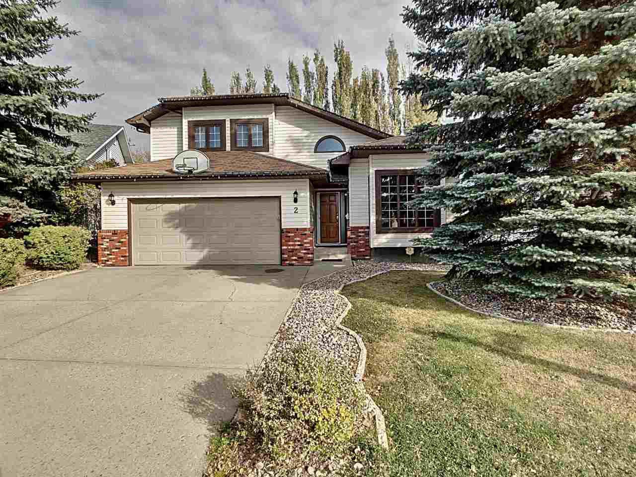 Main Photo: 2 CRAIGAVON Drive: Sherwood Park House for sale : MLS®# E4222358