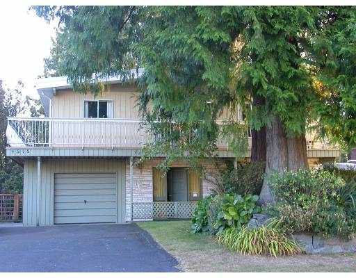Main Photo: 4518 TIMBERLINE Place in North_Vancouver: Canyon Heights NV House for sale (North Vancouver)  : MLS®# V667494