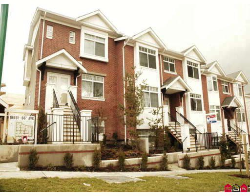 "Main Photo: 97 19551 66TH Avenue in Surrey: Clayton Townhouse for sale in ""Manhattan Skye"" (Cloverdale)  : MLS®# F2802596"