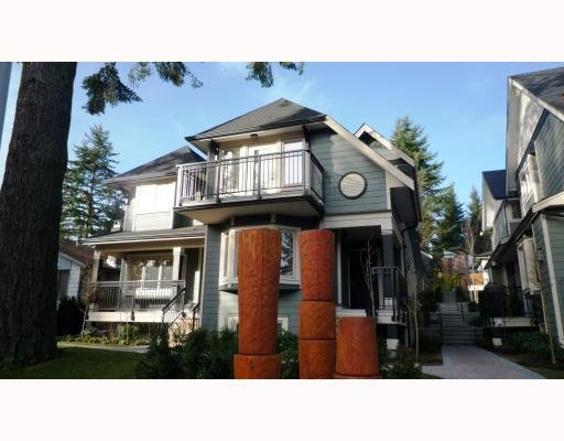 Main Photo: 3115 SUNNYHURST RD in North Vancouver: Condo for sale : MLS®# V753747