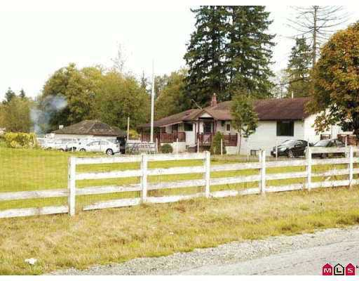 Main Photo: 18885 80TH Avenue in Surrey: Port Kells House for sale (North Surrey)