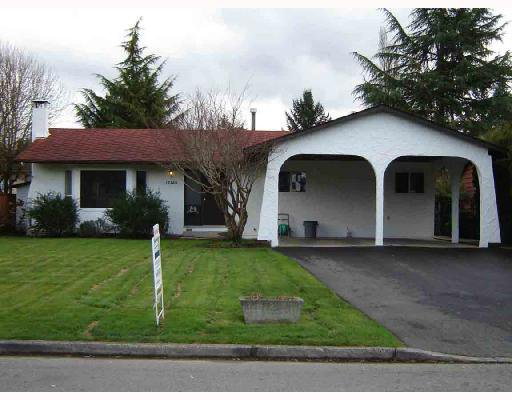 Main Photo: 12180 DOVER Street in Maple_Ridge: West Central House for sale (Maple Ridge)  : MLS®# V699461