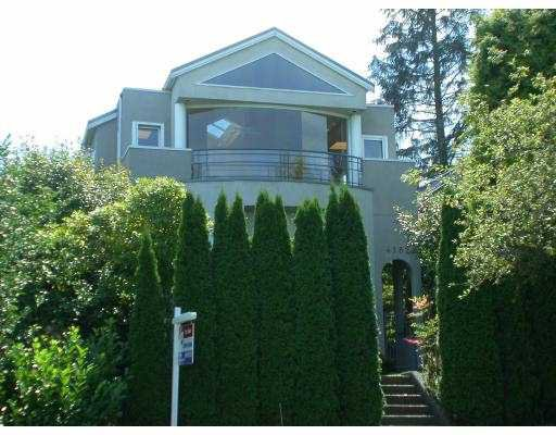 Main Photo: 4182 W 11TH AV in Vancouver: Point Grey House for sale (Vancouver West)  : MLS®# V553648