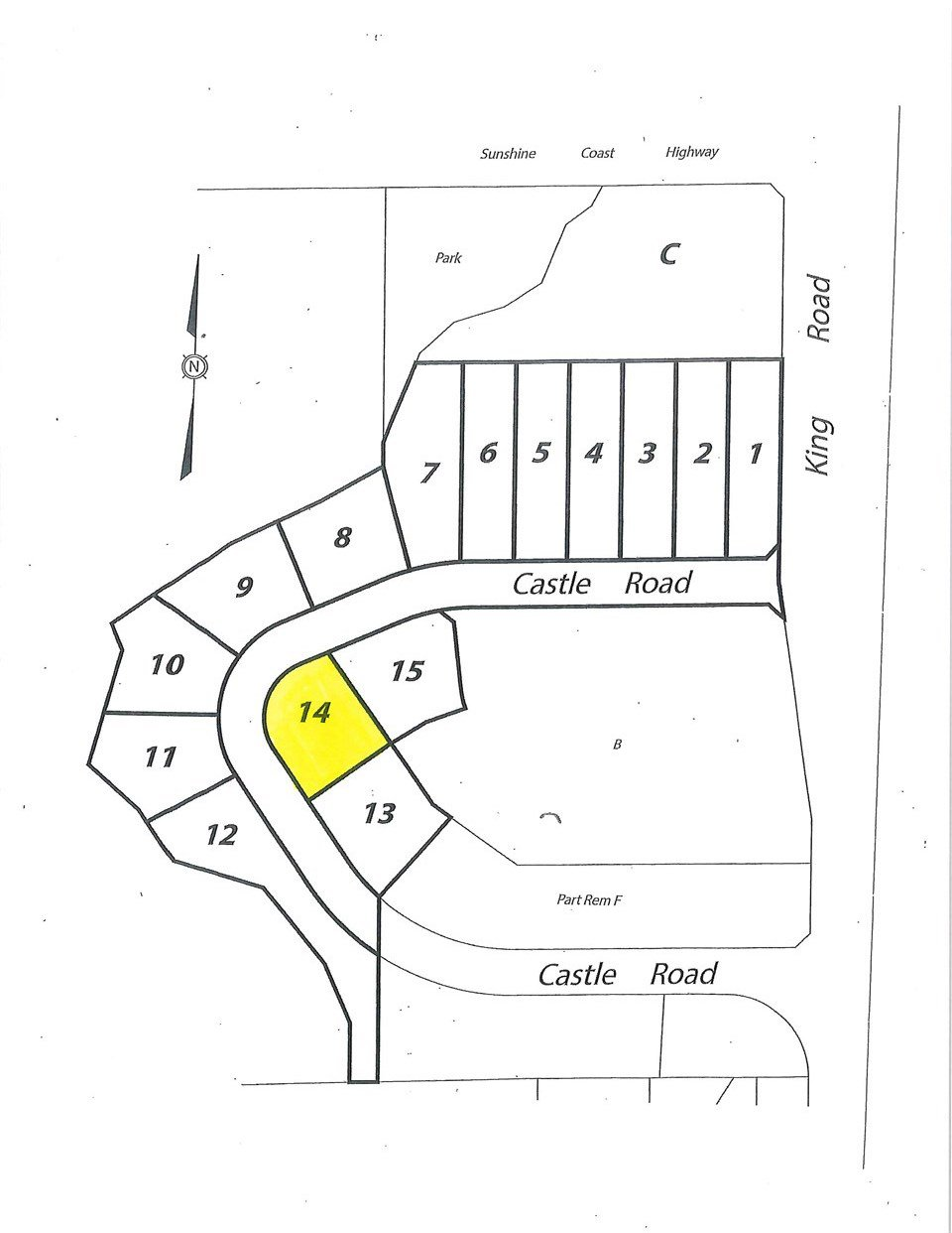 """Photo 1: Photos: LOT 14 CASTLE Road in Gibsons: Gibsons & Area Land for sale in """"KING & CASTLE"""" (Sunshine Coast)  : MLS®# R2422459"""