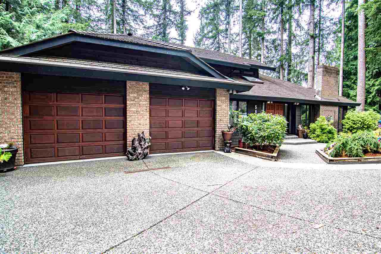 "Main Photo: 5845 237A Street in Langley: Salmon River House for sale in ""Tall Timber Estates"" : MLS®# R2495594"