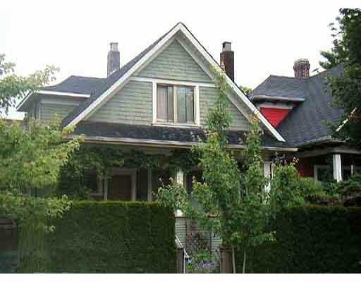 Main Photo: 2711 WOODLAND Drive in Vancouver: Grandview VE House for sale (Vancouver East)  : MLS®# V636623