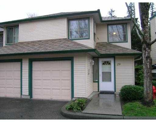 Main Photo: 29 21960 RIVER Road in Maple_Ridge: West Central Townhouse for sale (Maple Ridge)  : MLS®# V696397