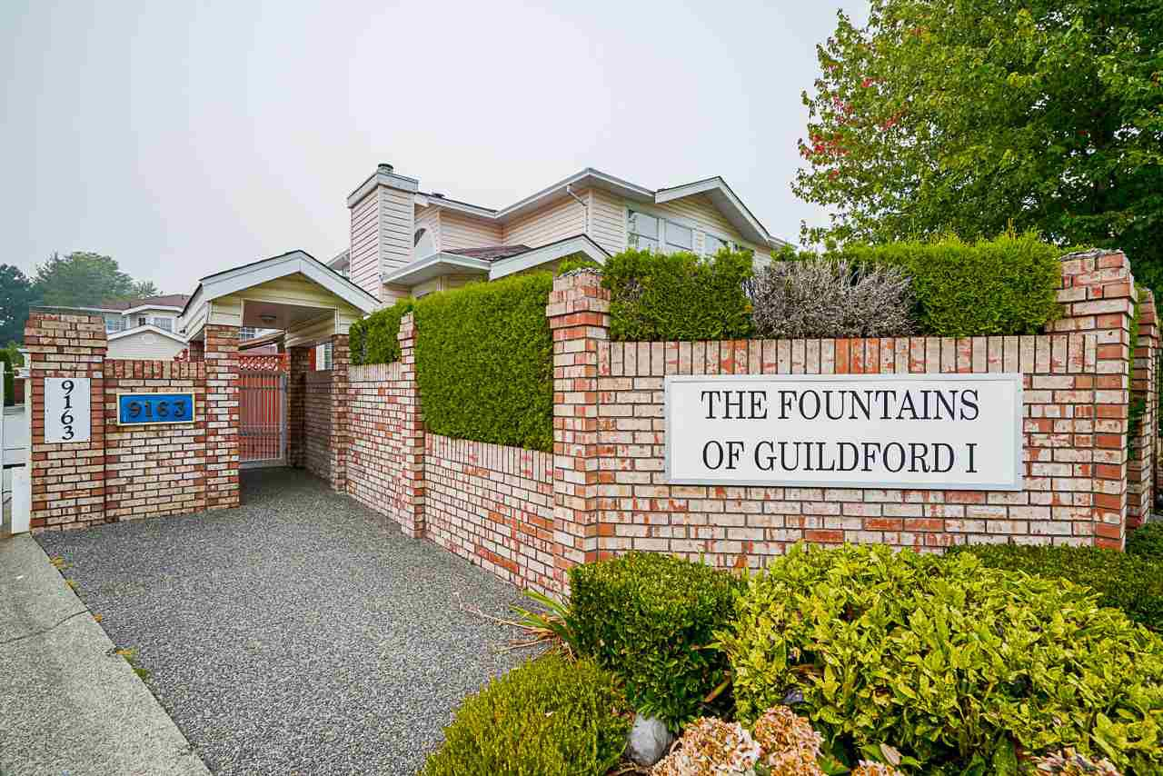 "Main Photo: 18 9163 FLEETWOOD Way in Surrey: Fleetwood Tynehead Townhouse for sale in ""The Fountains"" : MLS®# R2498462"