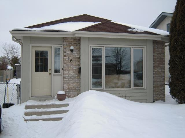 Main Photo: 16 Polydore RD in Winnipeg: Residential for sale (South East Winnipeg)  : MLS®# 1101821