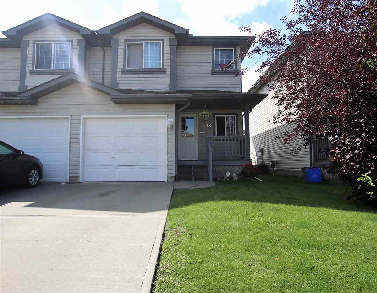 Main Photo: 2908 30 Street in Edmonton: Zone 30 House Half Duplex for sale : MLS®# E4168644