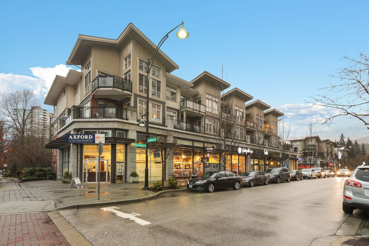 """Main Photo: 409 201 MORRISSEY Road in Port Moody: Port Moody Centre Condo for sale in """"LIBRA in SUTERBROOK"""" : MLS®# R2518990"""