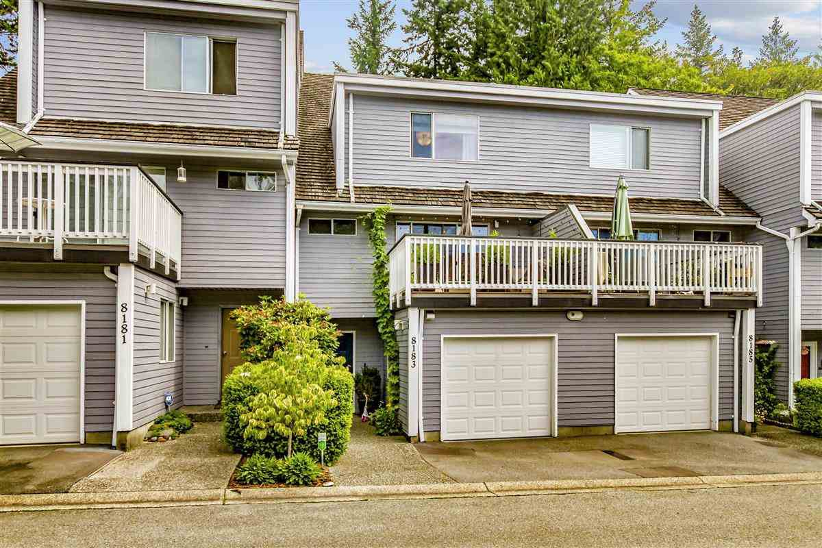 "Main Photo: 8183 FOREST GROVE Drive in Burnaby: Forest Hills BN Townhouse for sale in ""Wembley Estate"" (Burnaby North)  : MLS®# R2478592"