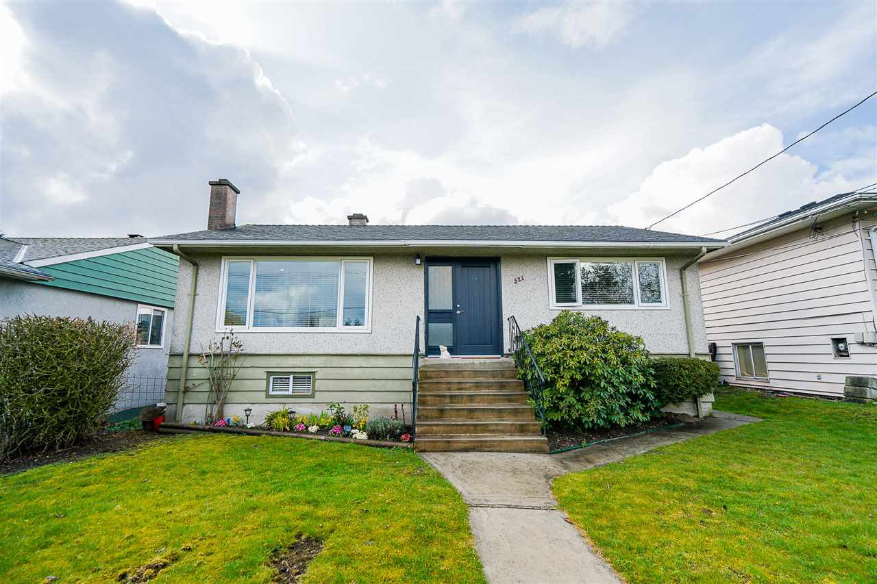 "Main Photo: 521 GARRETT Street in New Westminster: Sapperton House for sale in ""SAPPERTON"" : MLS®# R2447644"