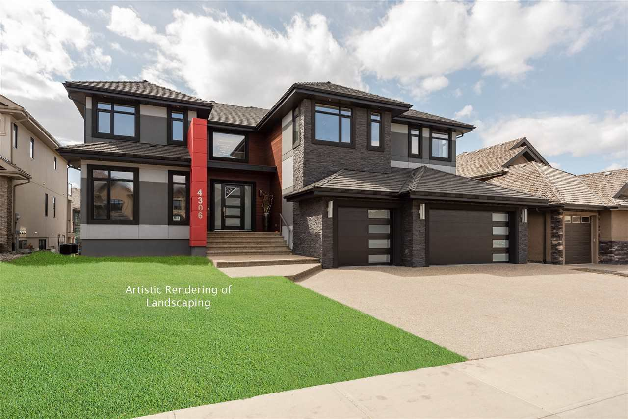 Main Photo: 4306 WESTCLIFF Landing in Edmonton: Zone 56 House for sale : MLS®# E4208505