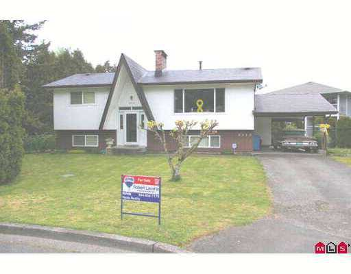 Main Photo: 8510 CRAMER Drive in Chilliwack: Chilliwack E Young-Yale House for sale : MLS®# H2701936