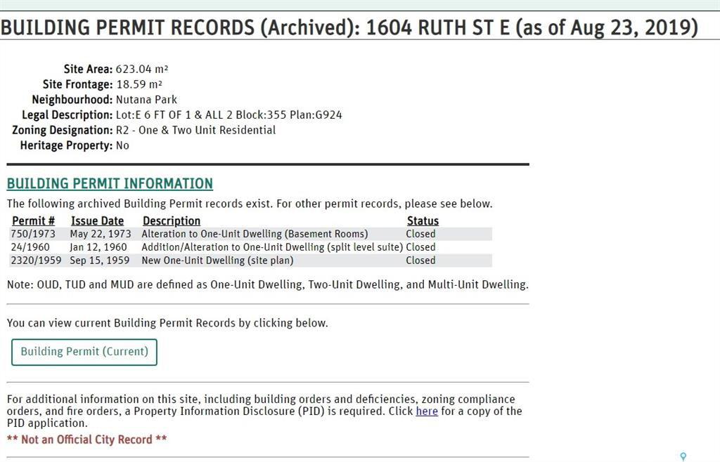 Photo 4: Photos: 1604 Ruth Street East in Saskatoon: Nutana Park Residential for sale : MLS®# SK784599