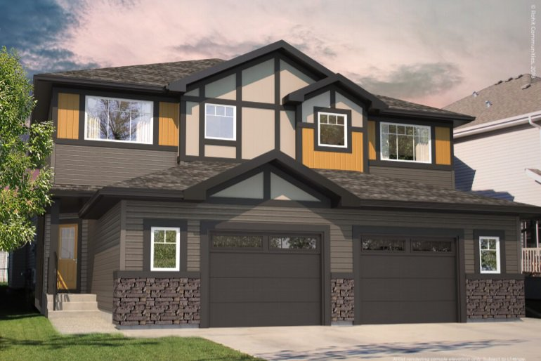 Main Photo: 364 Savoy Crescent: Sherwood Park House Half Duplex for sale : MLS®# E4215011
