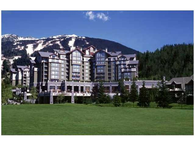 "Main Photo: # 454 4090 WHISTLER WY, in Whistler BC: Whistler Condo  in ""WESTIN RESORT & SPA"" : MLS®# V876620"