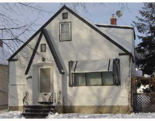 Main Photo: 215 HARVARD Avenue West in WINNIPEG: Transcona Residential for sale (North East Winnipeg)  : MLS®# 2801034