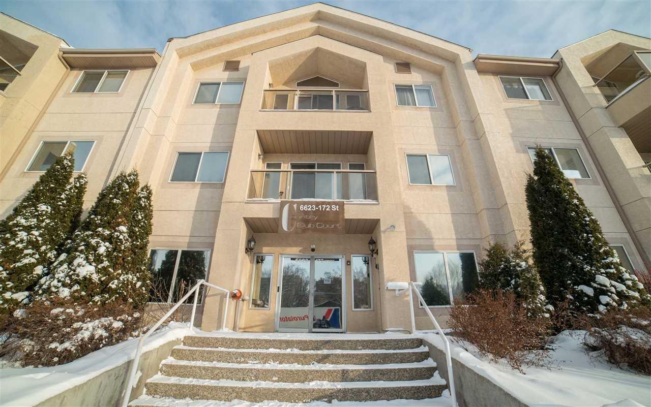 Main Photo: 306 6623 172 Street in Edmonton: Zone 20 Condo for sale : MLS®# E4184369