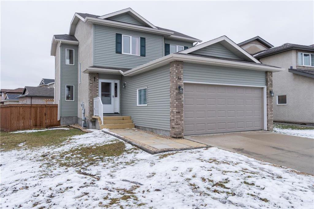 Main Photo: 36 Desrosiers Drive in Winnipeg: Canterbury Park Residential for sale (3M)  : MLS®# 1931823