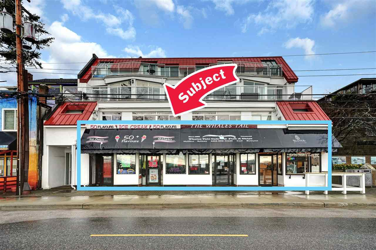 Main Photo: 15523 Marine Drive in : White Rock Retail for sale (Surrey)  : MLS®# C8030755