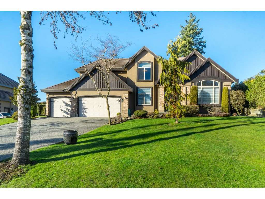 "Main Photo: 18589 55 Avenue in Surrey: Cloverdale BC House for sale in ""HUNTER PARK"" (Cloverdale)  : MLS®# R2444559"