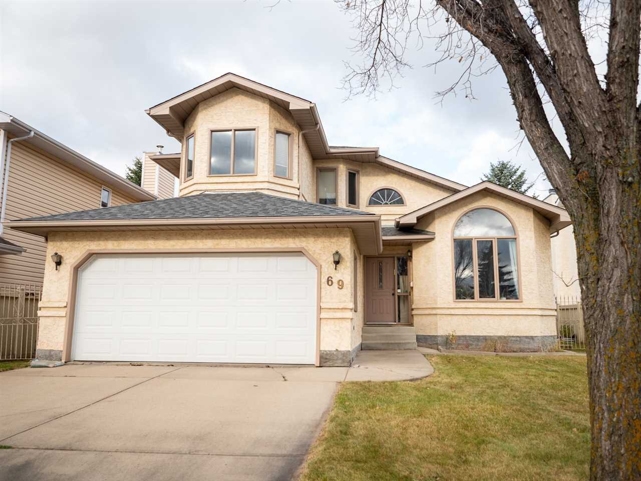 Main Photo: 69 ORMSBY Road W in Edmonton: Zone 20 House for sale : MLS®# E4218564