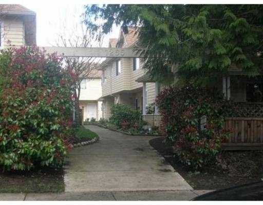 Main Photo: 1255 E 15TH Ave in Vancouver: Mount Pleasant VE Townhouse for sale (Vancouver East)  : MLS®# V637820