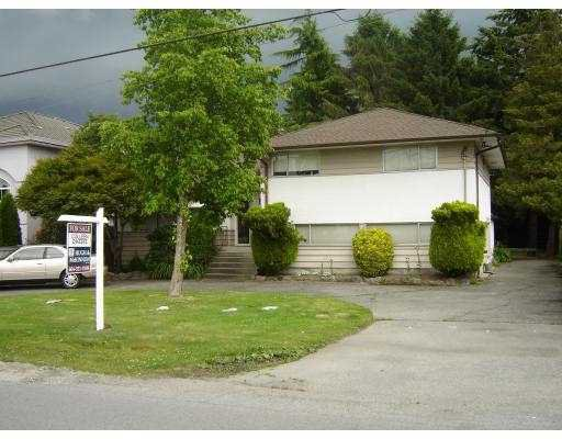 "Main Photo: 8640 MINLER Road in Richmond: Woodwards House for sale in ""WOODWARDS"" : MLS®# V655494"