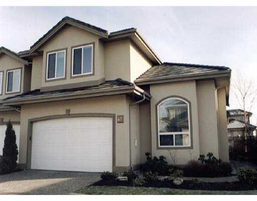 Main Photo: 42 998 RIVERSIDE DR in Port_Coquitlam: Riverwood Townhouse for sale (Port Coquitlam)  : MLS®# V273711