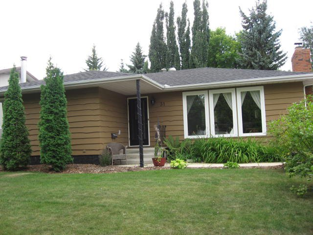 Main Photo: 31 Fermont Street in St. Albert: House for rent