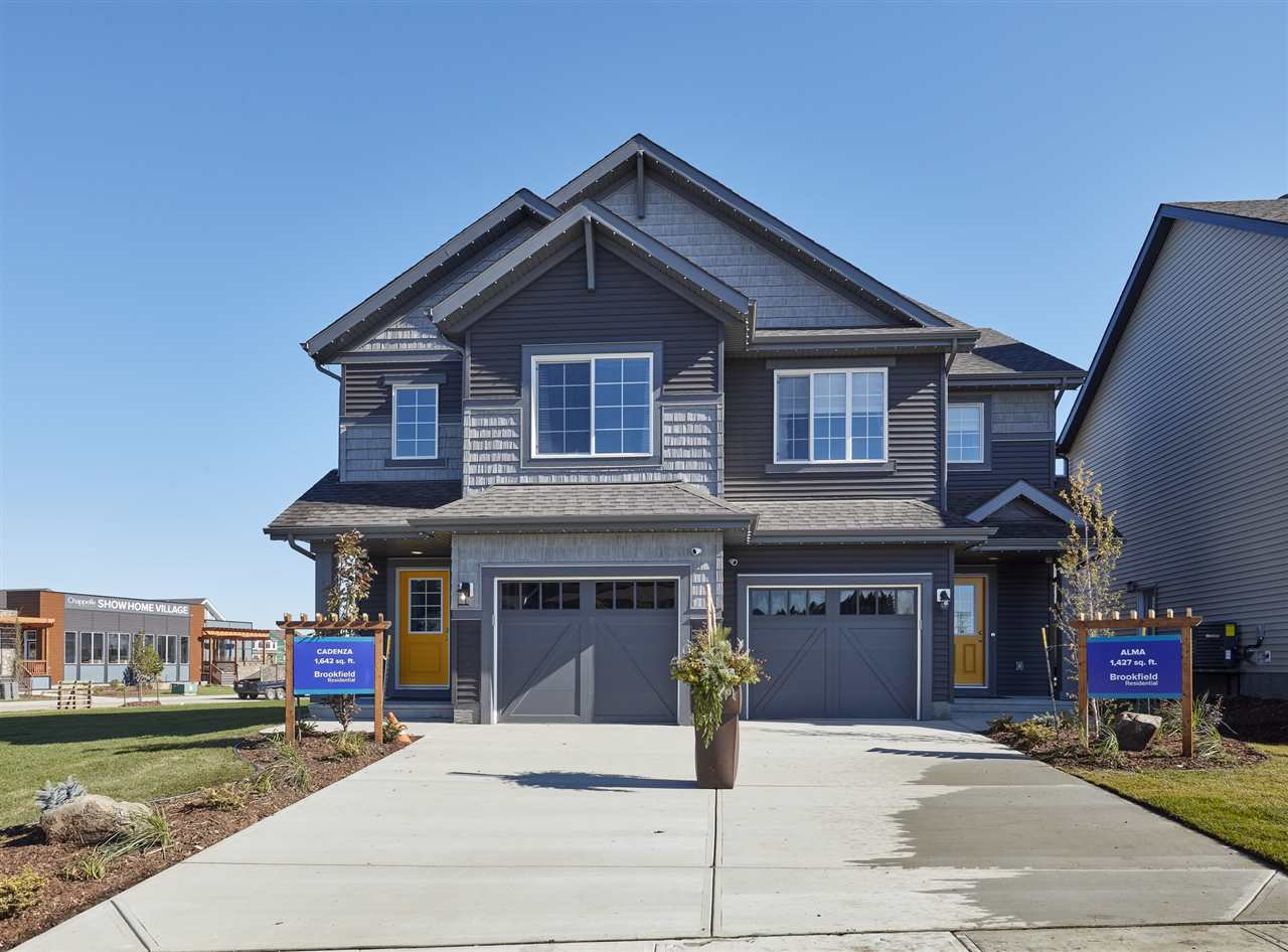 Main Photo: 3809 CHRUSTAWKA Place in Edmonton: Zone 55 House Half Duplex for sale : MLS®# E4184808