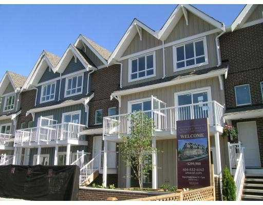 "Main Photo: 309 1661 FRASER Avenue in Port_Coquitlam: Glenwood PQ Townhouse for sale in ""BRIMLEY MEWS"" (Port Coquitlam)  : MLS®# V681684"