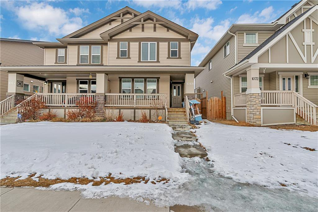 Main Photo: 1068 KINGS HEIGHTS Road SE: Airdrie Semi Detached for sale : MLS®# C4290551