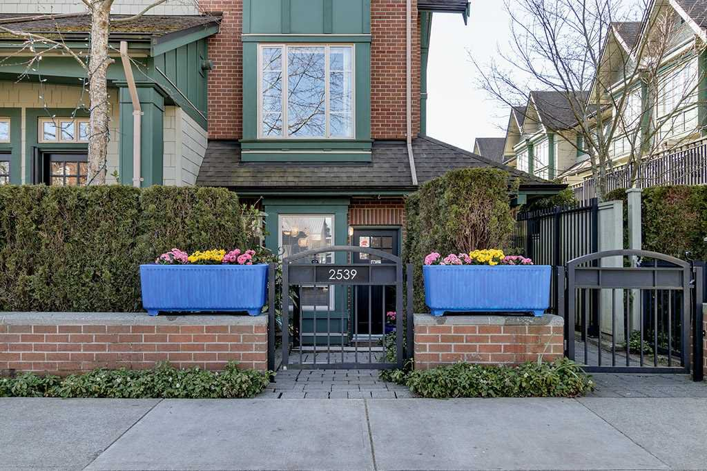"Main Photo: 2539 EAST Mall in Vancouver: University VW Townhouse for sale in ""LOGAN LANE"" (Vancouver West)  : MLS®# R2447292"