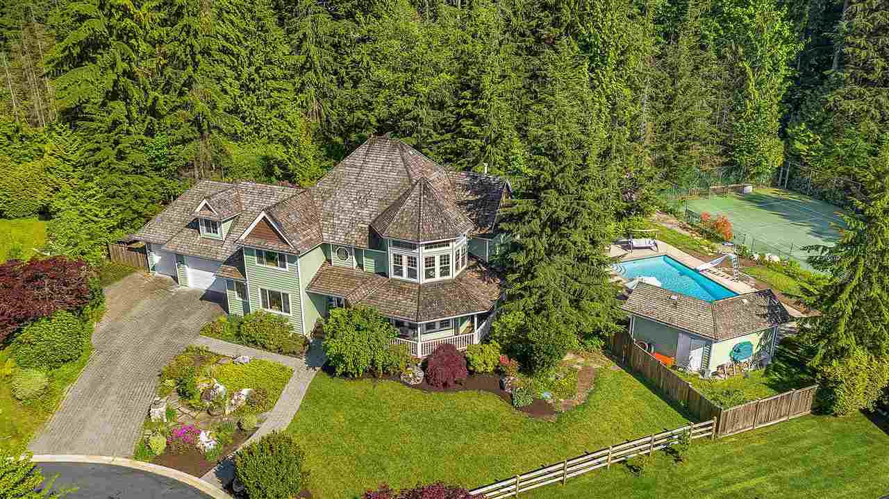 "Main Photo: 600 CANTERWOOD Court: Anmore House for sale in ""CANTERWOOD"" (Port Moody)  : MLS®# R2458725"