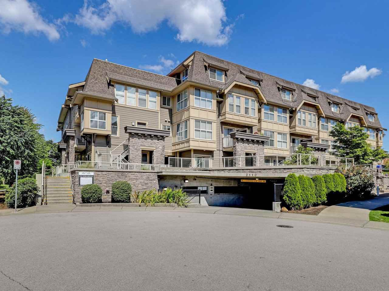 Main Photo: 114 - 2110 Rowland St in Port Coquitlam: Central Pt Coquitlam Condo for sale : MLS®# R2500858