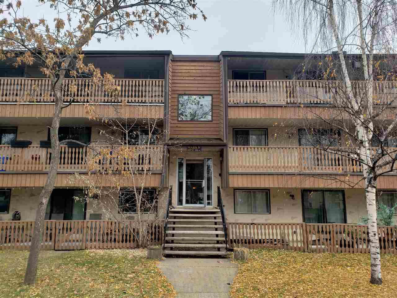 Main Photo: 7 10737 116 Street in Edmonton: Zone 08 Condo for sale : MLS®# E4179305