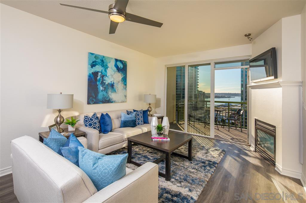 Main Photo: DOWNTOWN Condo for sale : 2 bedrooms : 1240 India St #1401 in San Diego