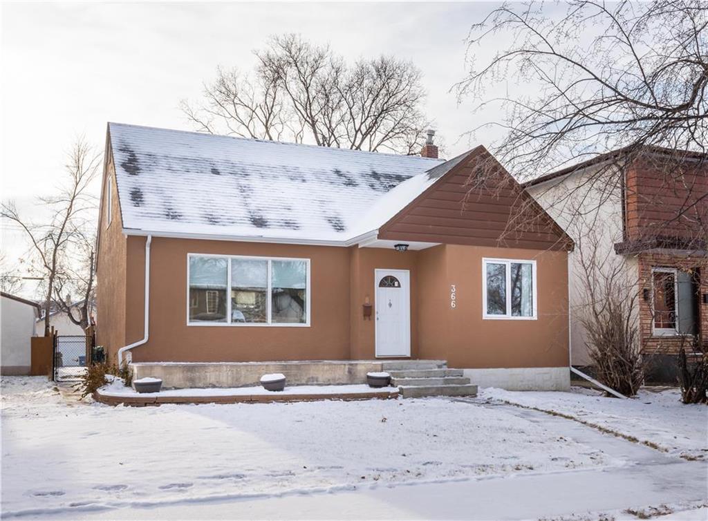 Main Photo: 366 Matheson Avenue in Winnipeg: West Kildonan Residential for sale (4D)  : MLS®# 202028638