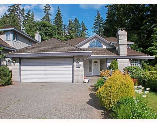 Main Photo: 18 TIMBERCREST Drive in Port Moody: Heritage Mountain House for sale : MLS®# V796835